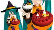 【MMDモデル配布】ハロウィンケーキ【Trick or Treat!】