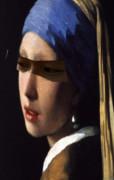 青いターバンの少女の眼光