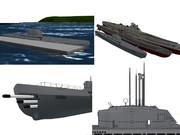 【MMD海軍】 U-ボートXXI型