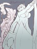ネクロマンサーナタリアと戦士ウク姉さん