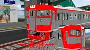 しなの鉄道軽井沢駅っぽくしてみた。