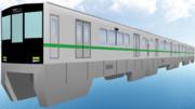 鉄道の日にMMD向けモノレール配布します