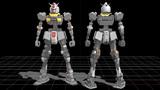 【MMDガンプラ】ガンダムver.3.0(フレームモデル)
