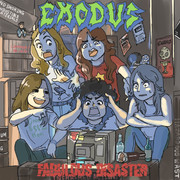 EXODUSのFabulous Disasterを二次元化した