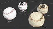【MMD】野球ボールv1【モデル・アクセサリ配布】