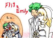 フリットとエミリーの結婚式