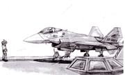 戦闘機発艦 サムネマジック