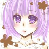 紫*ふりー