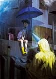 雨宿りの場所
