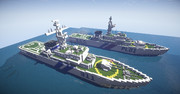 【minecraft軍事部】たかつき型巡視船【クラフティア独立国家連邦】