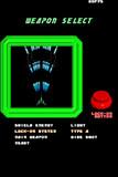 制作中STG「RAYASSAULT」兵装選択画面はこんな感じに仕上がりました。