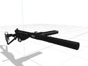 [MMDモデル配布・MMDアクセサリー配布]ステン短機関銃