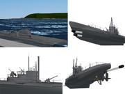 【MMD海軍】UボートVIIC型