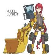 ホイールローダー