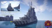 【Minecraft】FCDA16型フリゲート「リベルテ」