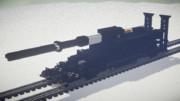 【Minecraft】800mm 列車砲