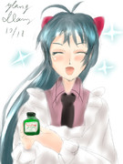 艦娘たちの疲労をポンととってキラキラにしてくれる魔法の薬です。⌒∇⌒