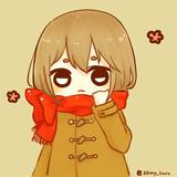 赤いマフラー