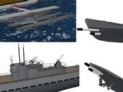 【MMD海軍】 UボートIXD型