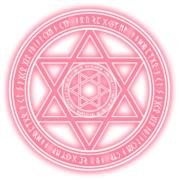 魔法陣1-ピンク
