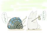 小トトロと王蟲の探検 出会い