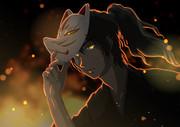 竜神鏡戦記 狐面の男
