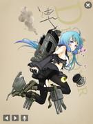 睦月型6番艦(中破)