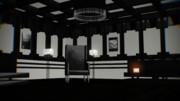 白黒ソファ部屋
