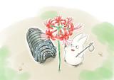 小トトロと王蟲の探検 彼岸花