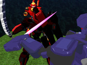 オリメカ戦隊グリッドレンジャー第20話B「夜の梟と赤い刀」
