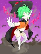 魔女っ娘GUMIさん(ハロウィン)