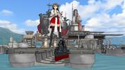 高速戦艦榛名入渠中