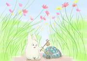 小トトロと王蟲の探検 コスモス