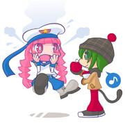 沸騰する少女