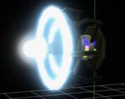 MMD用 ミニ八卦炉モデル 展開パターン