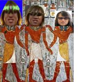 古代帝国キモティカの壁画