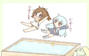 イオナちゃんと一緒にお風呂直行!