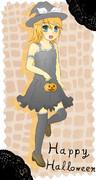 ハロウィン魔女っ娘リンちゃん