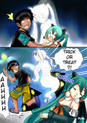 Miku and Alan Happy Halloween?? Part 3/3