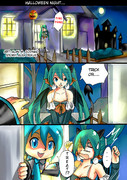 Miku and Alan Happy Halloween?? Part 1/3