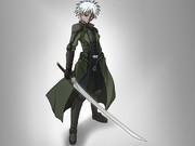 褐色少年剣士