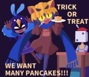 パンケーキよこしな!