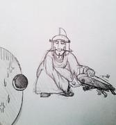 ヴァンプ提督とレッド憲兵。