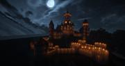 【Minecraft】ハロウィンっぽい城