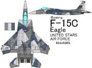 F-15C Eagle 65th Aggressor Squadron