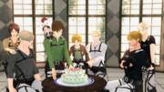【進撃のMMD】ミケ Happy birthday!  2014
