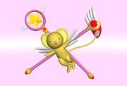【CCさくら】ケロちゃん&さくらの杖【Shade】