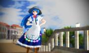 天子ちゃんの散歩(1)