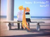 Happy Birthday!!  Neru!!