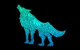 狼 ロゴ的な何か
